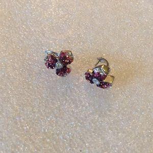 Multicolor CZ 925 earring